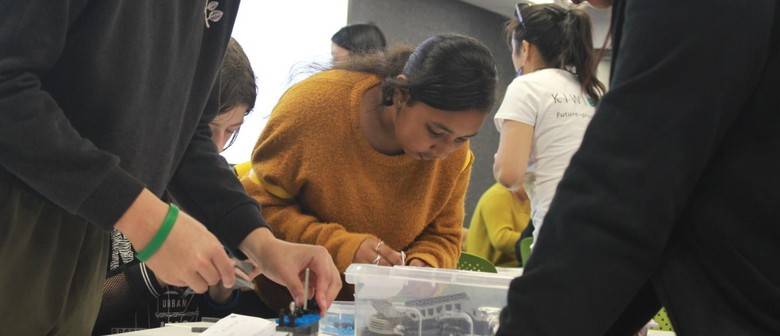 Girl Powered Robotics for Mother's Day