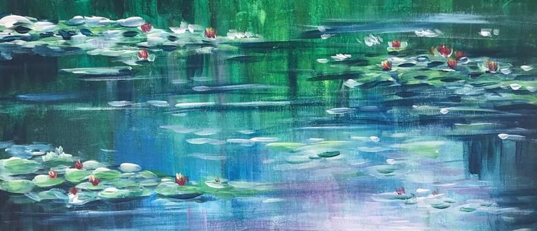 Paint & Chill Friday Night - Monet Waterlily