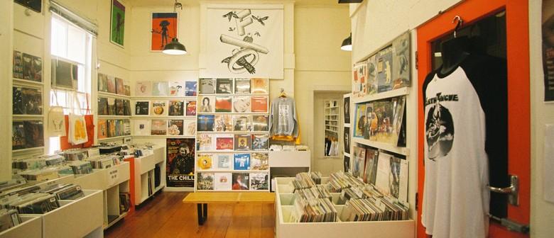 NZ Music T-shirt Day & Pop-up Record Store