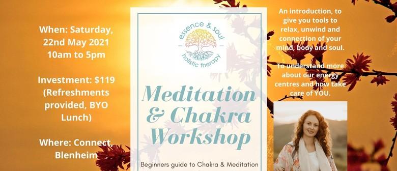 Introduction to Meditation & Chakra Workshop