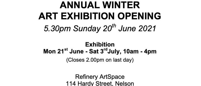 Art Group Nelson Winter Exhibition