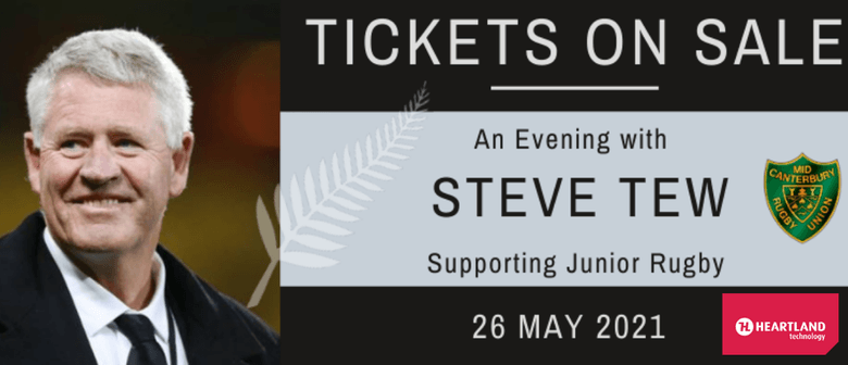 Mid Canterbury Junior Rugby Fundraiser with Steve Tew