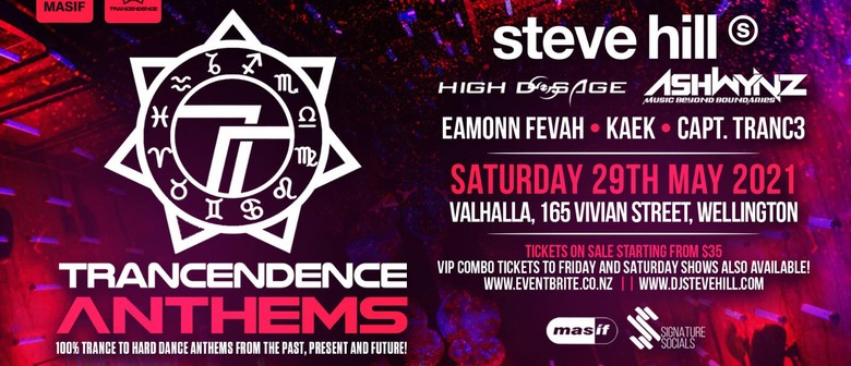 Trancendence Anthems Party