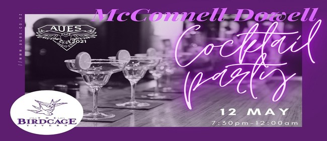 AUES Presents: McConnell Dowell Cocktail Party