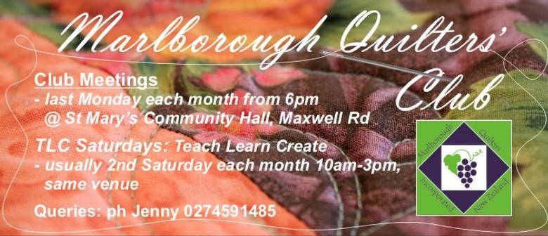 Marlborough Quilters TLC Days