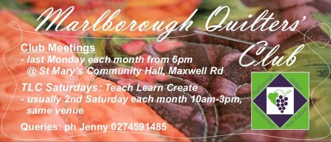 Marlborough Quilters Club Nights