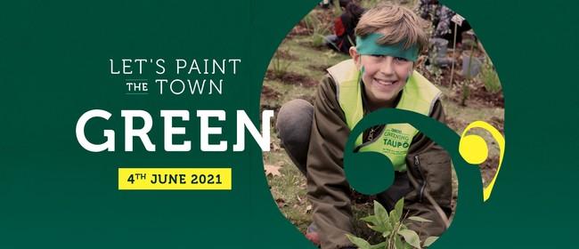 Greening Taupo Day