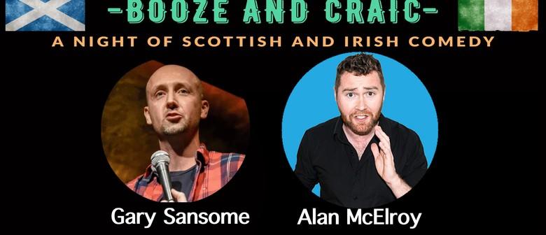 Booze & Craic: A Night Of Irish & Scottish Comedy