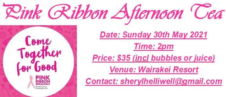 Pink Ribbon Afternoon Tea