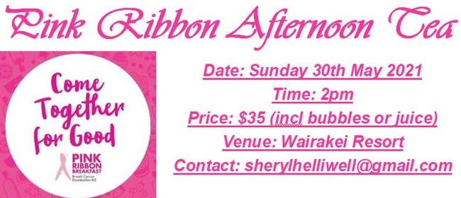 Pink Ribbon Afternoon Tea: CANCELLED