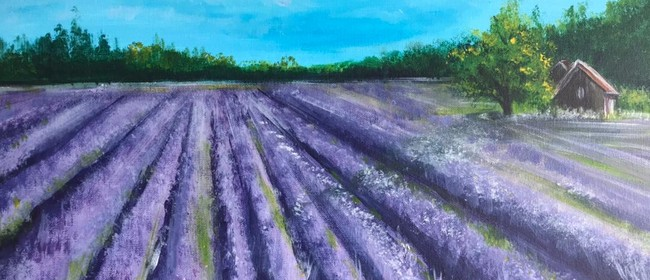 Paint & Chill Friday Night - Lavender Field!