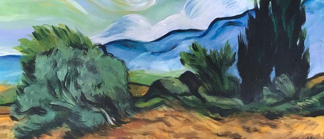Paint & Chill Saturday Afternoon - Van Gogh Wheatfield!