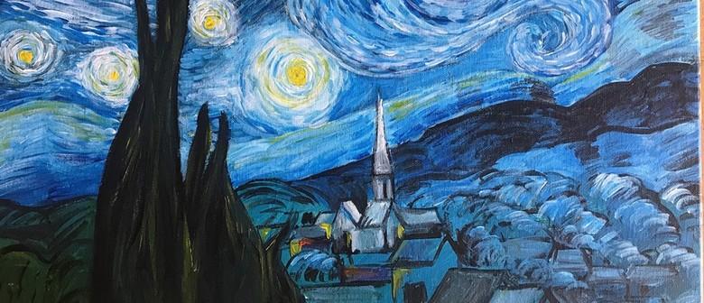Paint & Chill Friday Night - Van Gogh Starry Night!
