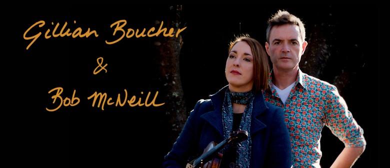 Award-Winning Folk Duo Gillian Boucher & Bob McNeill