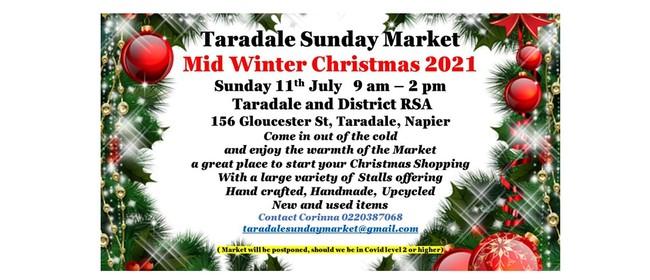 Taradale Sunday Market - Mid Winter Christmas