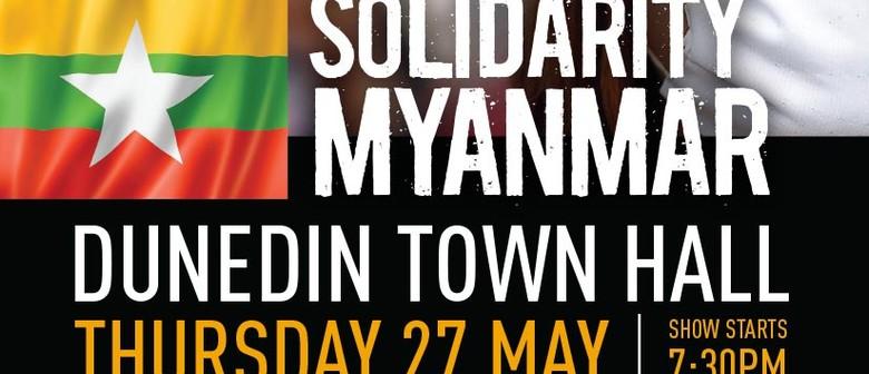 Solidarity Myanmar Concert