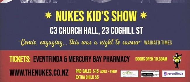 The Nukes Ukulele Trio Kids Show