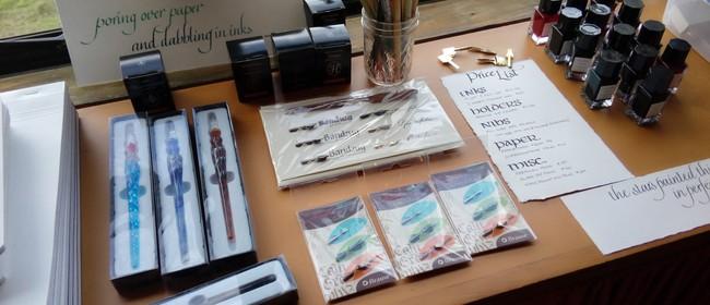 Calligraphy - Winter Warmer Craft Workshop