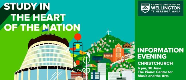 Christchurch Information Evening