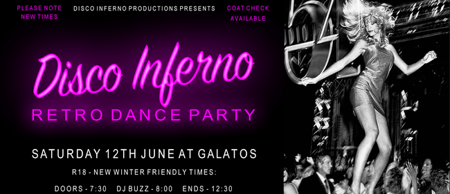 Disco Inferno - Auckland's Hottest Retro Dance Party