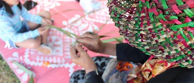 Flax Weaving With Nana Kura Walker
