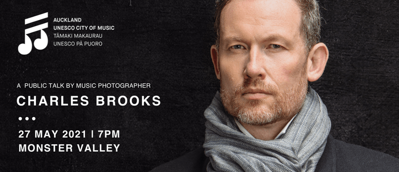 A talk by Music Photographer Charles Brooks