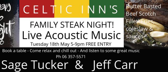 Family Steak Night ft Sage Tucker & Jeff Carr