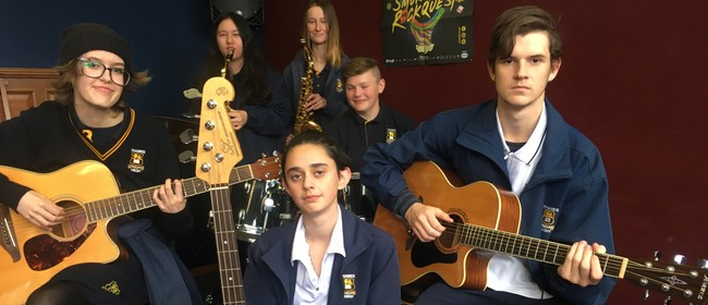 Thames High School Music Students In Concert