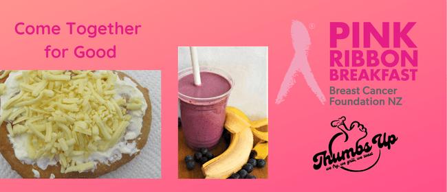 Pink Ribbon Breakfast at Thumbs Up