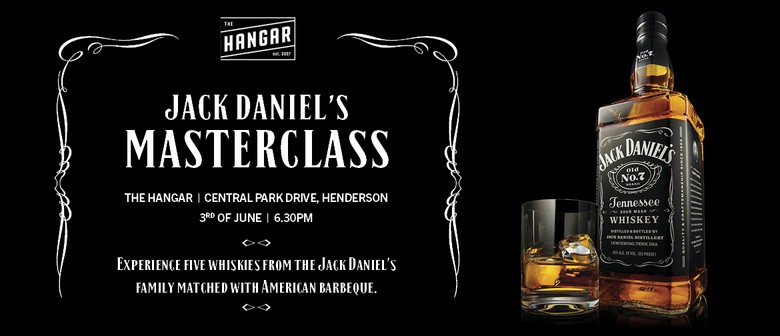 Jack Daniel's Whiskey Masterclass: CANCELLED
