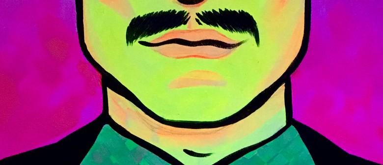 Glow in the Dark Paint Night - Miami Vice