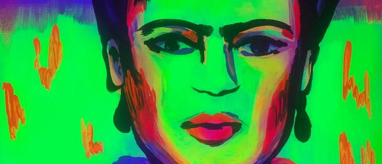 Glow in the Dark Paint Night - Fluro Frida: POSTPONED