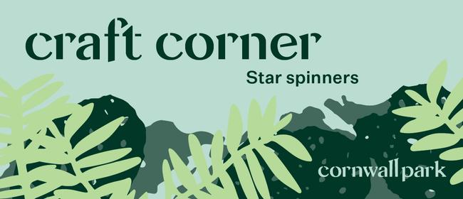 Craft Corner: Star Spinners