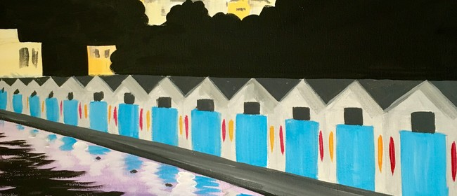 Paint and Wine Night - Oriental Bay