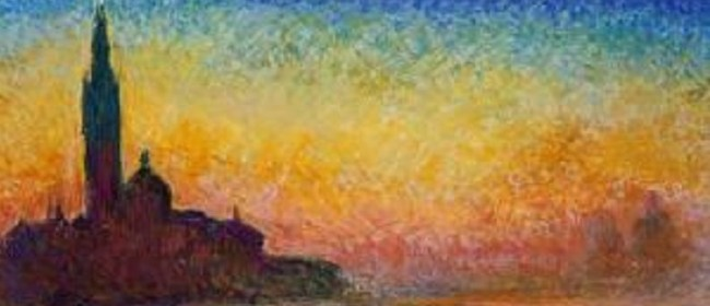 Wine and Paint  - Sunset in Venice