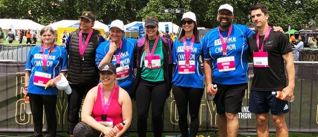 Stroke Foundation at Auckland Marathon 2021