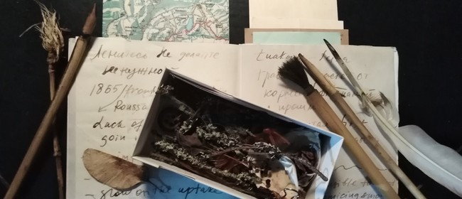 Drawing with Natural Inks & Tools