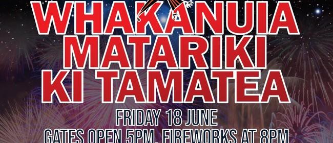 Whakanuia Matariki ki Tamatea