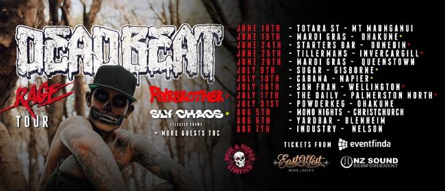 Deadbeat Rage Single Release Tour