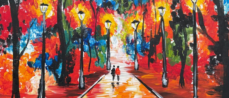 Paint and Wine Night - Farewell to Anger
