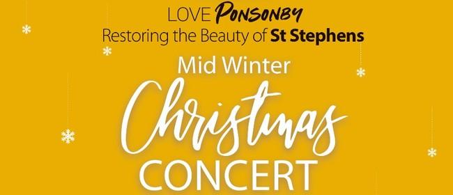 Mid-Winter Christmas Concert (Fundraiser for St Stephens)