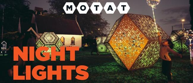 Night Lights at MOTAT
