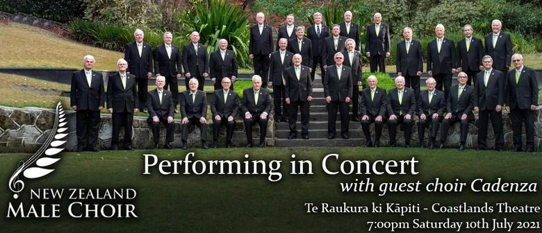 The New Zealand Male Choir in concert with Cadenza Choir