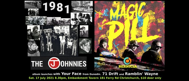 The Johnnies & Bernicia albums launch w/ Your Face & 71 Drif