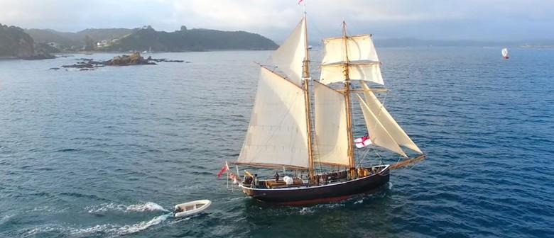Walk 11 – Moturua Island Song - Sailing Tall Ship R Tucker