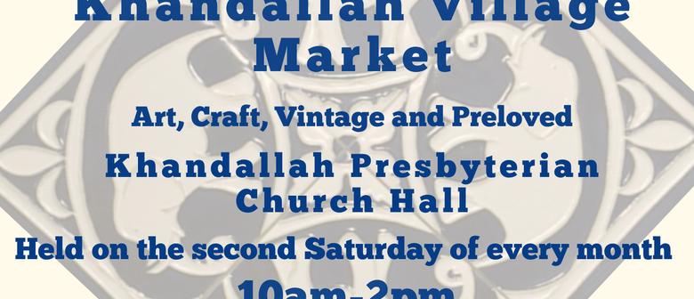 Khandallah Village Market - Art, Craft, Vintage and Preloved