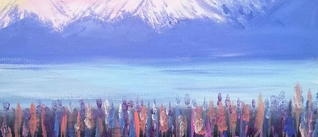 Paint & Wine Night - Mount Cook
