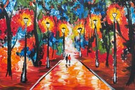 Image for event: Paint and Wine Night - A Farewell to Anger