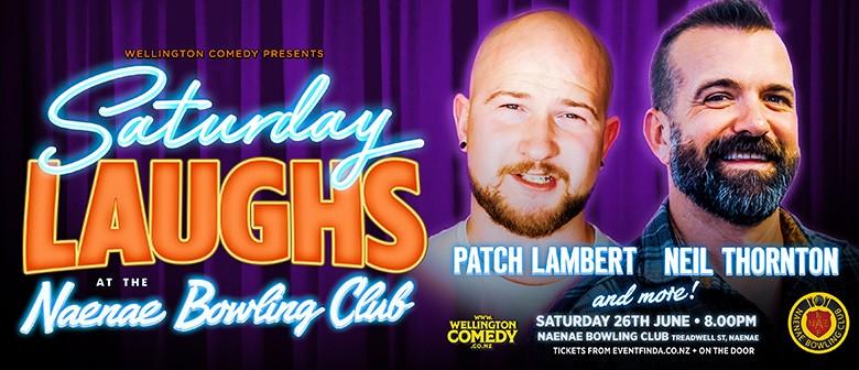 Saturday Laughs, at the Naenae Bowling Club