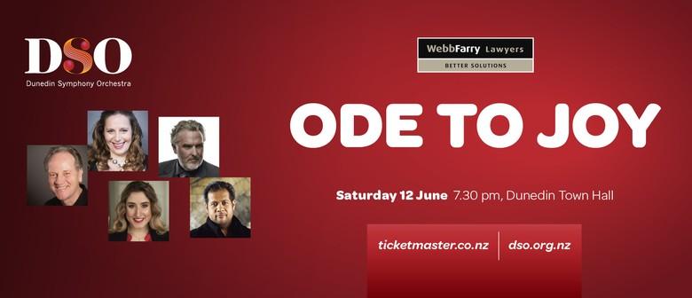 Dunedin Symphony Orchestra : Webb Farry 'Ode To Joy'